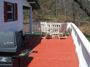 rear deck