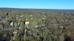 Small Pocono Town in Winter