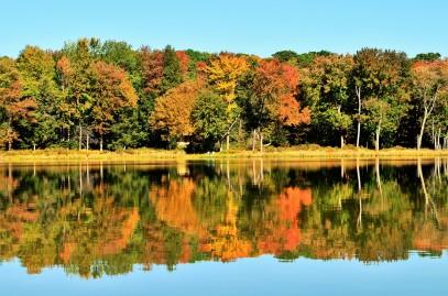 Autumn at Hanby Lake