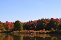 Fall Foliage at Hanby Lake