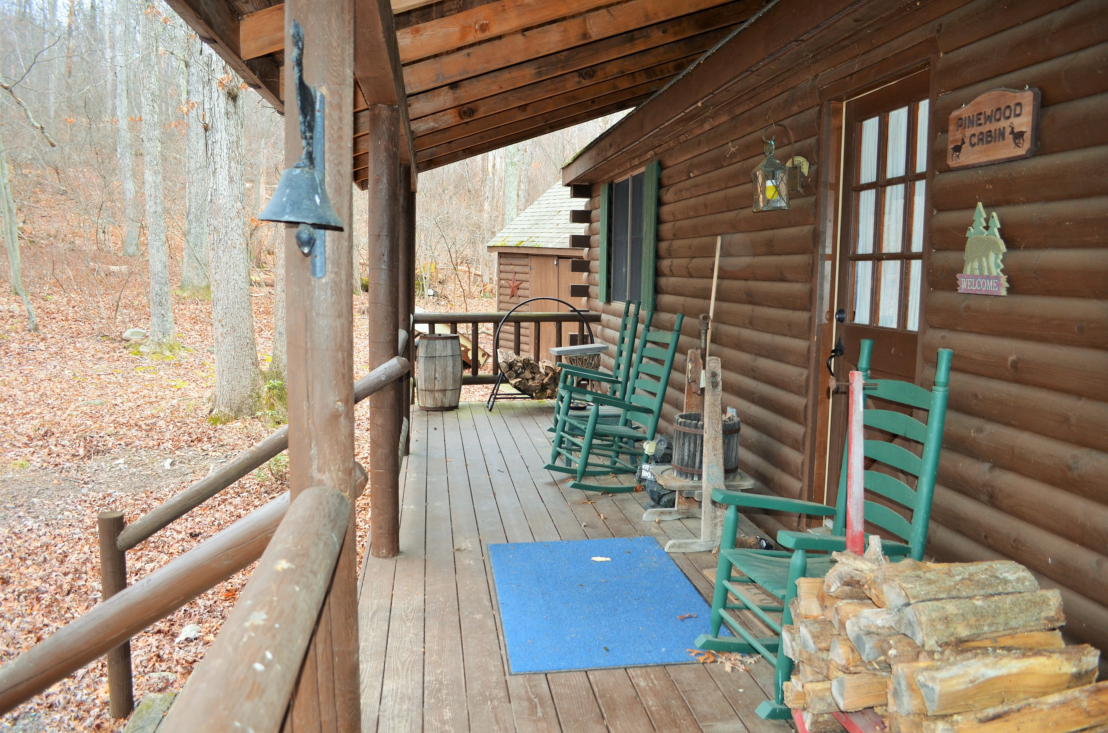 rentals pocono jacuzzi sale for in with cabins owner poconos pennsylvania hunting indoor by groups rent cabin